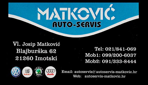 AUTO – SERVIS  MATKOVIĆ