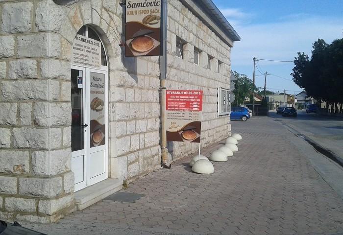 Otvaranje nove prodavaonice pekare Samčović u Prološcu (FOTO)