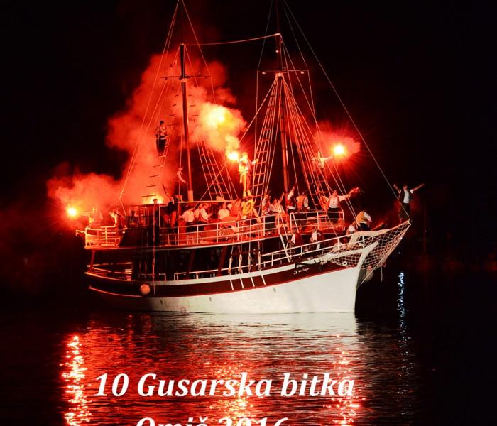 10. GUSARSKA BITKA U OMIŠU